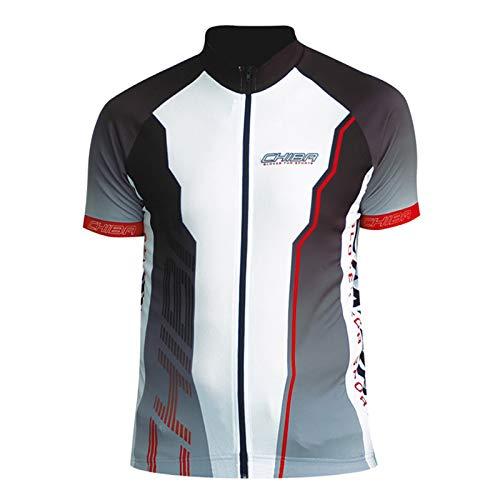 Chiba Herren Team Shirt Jersey, Polyester XXL schwarz