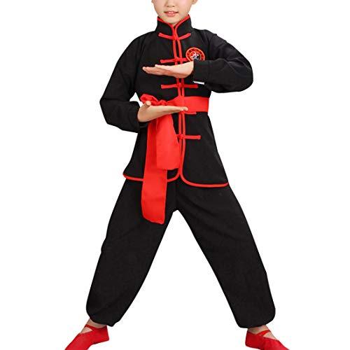 besbomig Student Kinder Klettern Chinesisch Traditionelle Tai Chi Uniform Kung FU Anzüge Kinder Uniformen Kimono