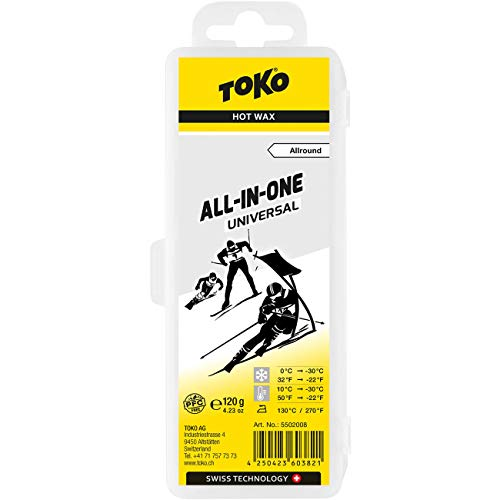 Toko Wachs All-in-one Uni 0°C /-30°C 120g Wax