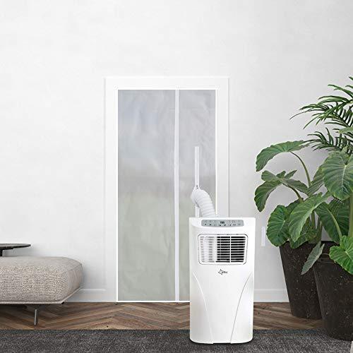 Sekey Fensterdichtung für tragbare Klimaanlage Ablufttrockner Luftentfeuchter Heißluftstopp für Kellerfenster Oberlichter (220 x 100cm)