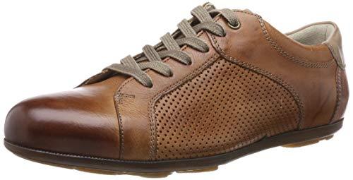 LLOYD Herren BABILA Sneaker, Braun (Cognac/Sand 3), 47 EU