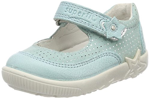 Superfit Baby Mädchen Starlight Lauflernschuhe, Blau (Aqua Kombi), 24 EU