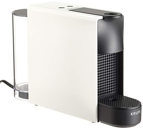Krups Nespresso Essenza Mini XN1111 Kaffeekapselmaschine (1260 Watt, 0,7 Liter, 19 bar, inklusive Aeroccino Milchaufschäumer) weiß