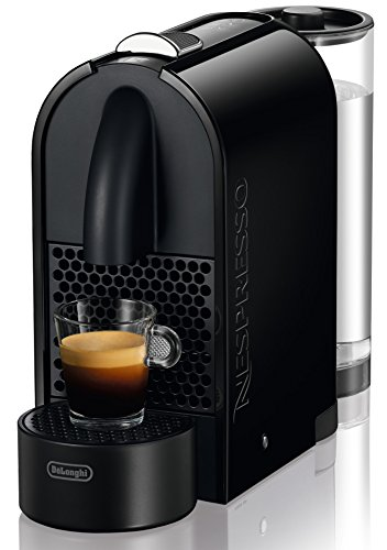 DeLonghi EN 110.B Nespresso U Kapselmaschine (1260 Watt, 0,8 Liter Wasserbehälter) schwarz