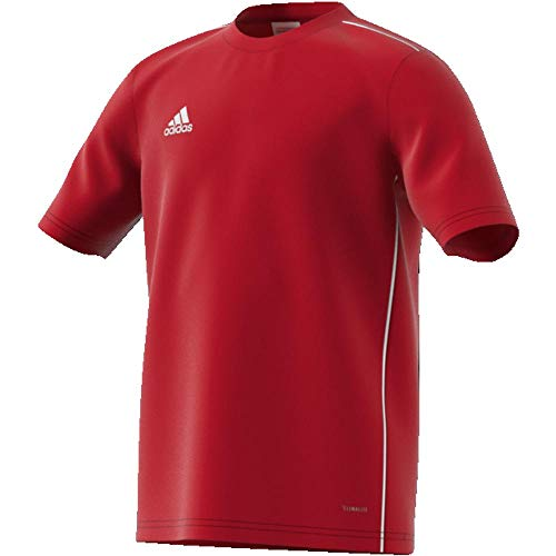 adidas Kinder CORE18 Y Jersey, Rot (power red/White), 128