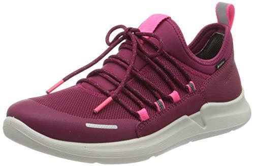 Superfit Mädchen THUNDER Sneaker, (Rot/Rosa 50), 32 EU