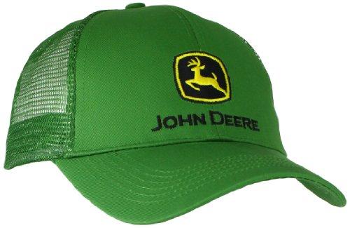 JOHN DEERE NCAA Herren Logo Mesh Back Core Baseball Cap - Grn - Einheitsgröße