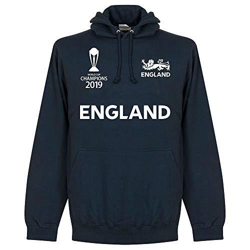 Retake England Cricket World Cup Winners Hoodie - Navy - XXL