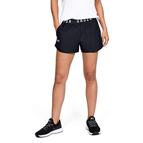 Under Armour Damen Kurze Hose Play Up 3.0, Schwarz, LG, 1344552-001