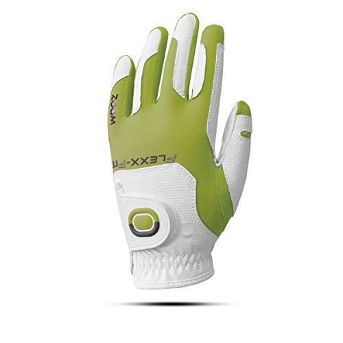 ZOOM Weather Flexx Fit Damen Golfhandschuhe Linkshand (Hellgrün)
