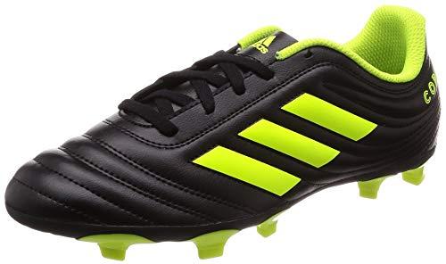 adidas Copa 19.4 FG, Baby Jungen Fußballschuhe, Schwarz (Core Black/Solar Yellow), 37 1/3 EU (4.5 UK)