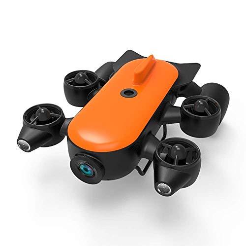 SANON 150M / 100M Professionelle Unterwasserdrohne Roboter mit 4K UHD Aktion Kamera-Fernsteuerung in Echtzeit Unterwasser-Erkennung for Anzeigen, Schießen, Angeln und Bergungsarbeiten. WTZ012