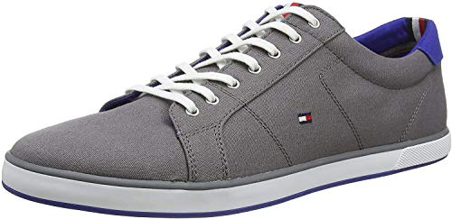Tommy Hilfiger Herren H2285ARLOW 1D Sneaker, Grau (Steel Grey 039), 47 EU