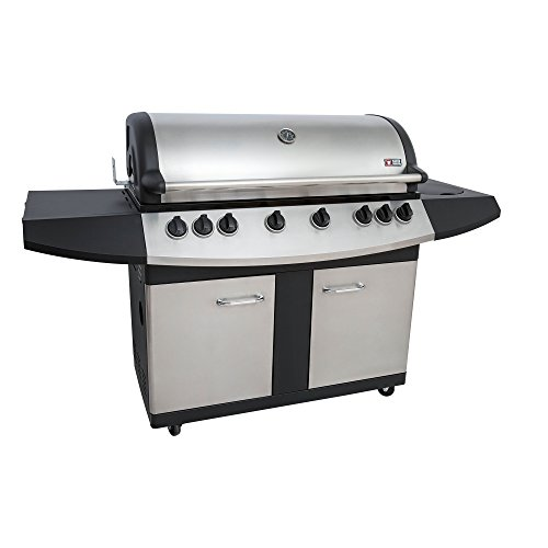 Mayer Barbecue ZUNDA Gasgrill MGG-361 Pro mit Backburner