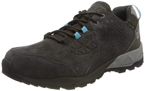 Jack Wolfskin Damen Cascade Hike LT Texapore Low W Outdoorschuhe, Phantom/Blue, 41 EU