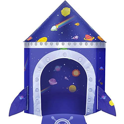 joylink Kinderspielzelt, Castle Spielzelt für Jungs Kleinkinder Spielzelt Spielzeug Tent Tragbare Faltbare Castle Spielhaus Tent für Innen und Außen