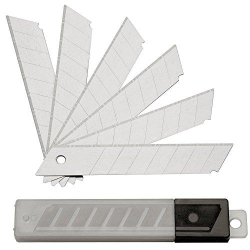 100 ST. Abbrechklingen Cuttermesser 18 mm; Cutterklingen Cutter Klingen Messer NEU