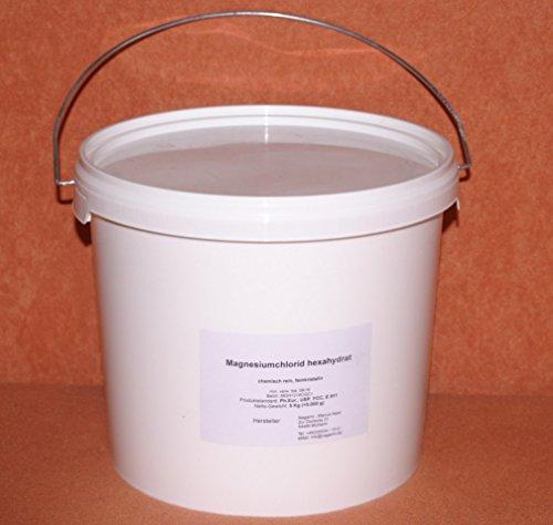 Magnesiumchlorid Hexahydrat 5 Kg im Eimer, Lebensmittelqualität E511 - feinkristalin