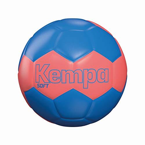 Kempa Soft Handball, Fluo rot/kempablau, NOSIZE