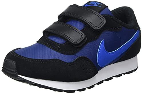 Nike Jungen Nike Md Valiant Sneakers, Blue Void Signal Blue Black White, 34 EU