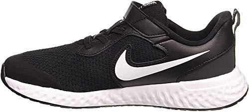 Nike Revolution 5 (PSV) Running Shoe, Black/White-Anthracite, 32 EU