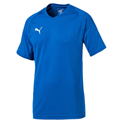 Puma Herren Liga Indoor Jersey Pro Trikot, Electric Blue Lemonade White, XL