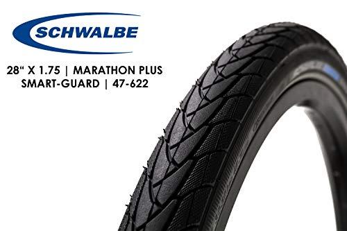 28 Zoll Schwalbe Marathon Plus Fahrrad Reifen Mantel Decke 47-622 E-Bike Ready