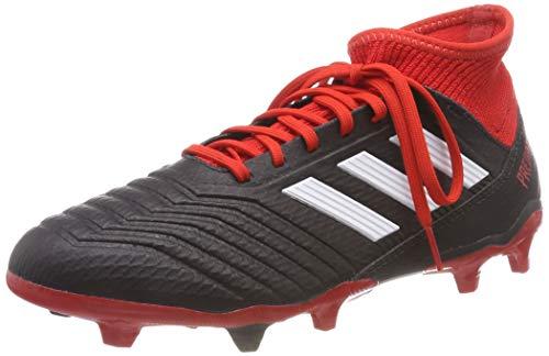adidas Herren Predator 18.3 Fg Fußballschuhe, Schwarz (Negbás/Ftwbla/Rojo 001), 42 EU