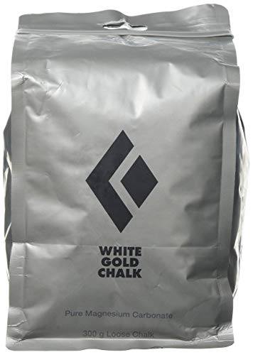Black Diamond White Gold Loose Chalk Magnesium zum Klettern, Bouldern, Turnen, 300g