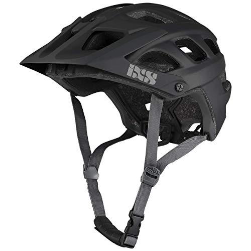 IXS RS Evo Mountainbike-Helm, für Erwachsene, Unisex, Schwarz, SM (54 – 58 cm)
