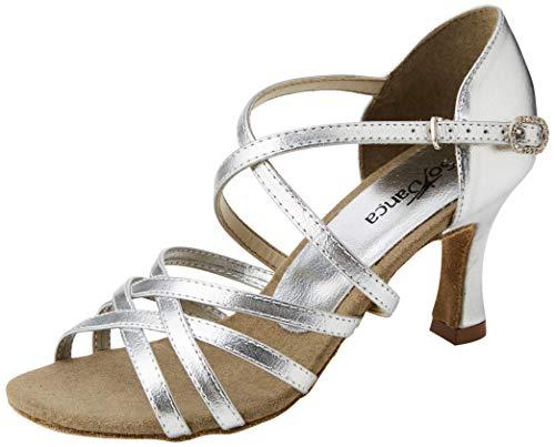 So Danca Damen Bl164 Standard- & Latintanzschuhe, Silber (Silver)40 EU (M 9.5 L)