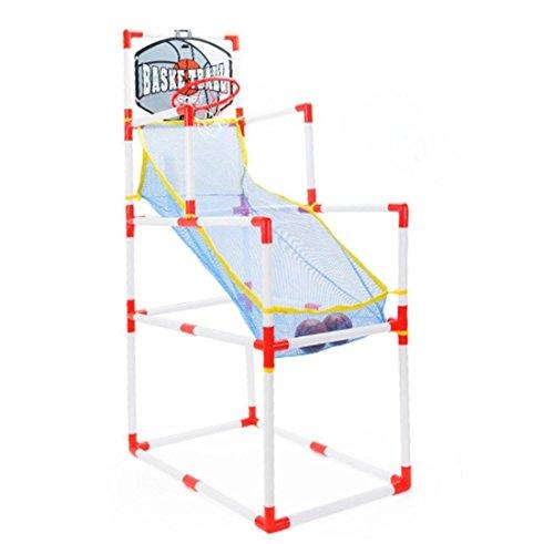 Ammon Lowen Sport Spiel Kinder Set Basketballkorb Set + Fußballtor Set BPA Frei- Kunststoff, Gut für Kinder und Erwachsene Indoor/Outdoor (Basketballkorb Set)