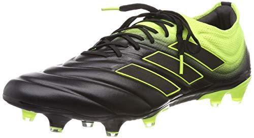 adidas Herren COPA 19.1 FG Fußballschuhe Schwarz (Solar Yellow/Core Black), 44 EU