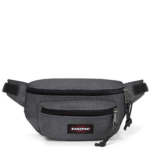 Eastpak Doggy Bag Gürteltasche, 27 cm, 3 L, Grau (Black Denim)