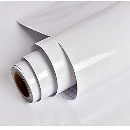 Klebefolie Möbel Selbstklebend Glitzert Weiß 30cmX3m Wasserdicht Möbelfolie Folie Tapete Dekofolie Vinyl Schrank Möbel Küche PVC Wand Schlafzimmer