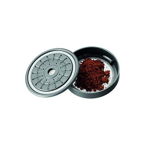 WMF Kaffeepulverkassette mit Edelstahl-Permanentfilter, Dauerfilter für WMF Kaffeepadmaschinen, Dauerpad für losen Kaffee oder Tee