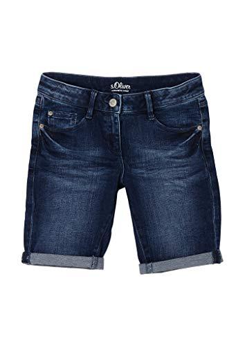 s.Oliver Junior Mädchen 401.10.103.26.181.2100955 Jeans-Shorts, 56Z2, 176