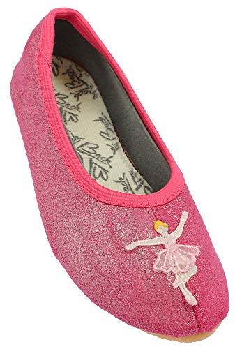 Beck Mädchen Ballerina Gymnastikschuhe, Rosa (Pink 06), 31 EU