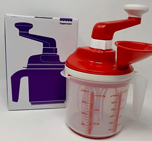 Tupperware Speedy Chef Easy Mixx 2-Stufen NEUES Modell Eischnee Sahne Eiweiß Kuchenteig Rührgerät Ayran Mixer