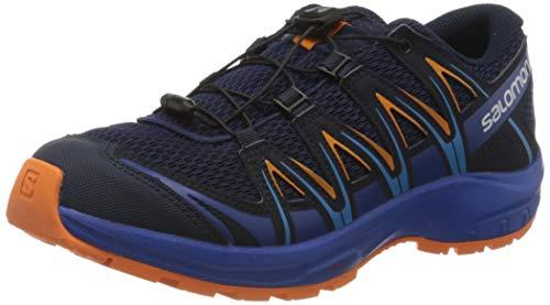 Salomon Kinder Sportschuhe, XA PRO 3D J, Farbe: blau/orange (Medieval Blue/Mazarine Blue Wil/Tangelo), Größe: EU 38