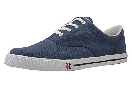 Romika Unisex-Erwachsene Soling Bootsschuhe, Blau (jeans), 52 EU