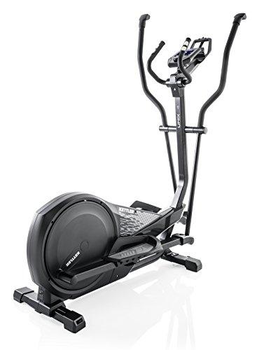 Kettler Unix 4Magnetic Cross Trainer Black–Cross-Trainer (Magnetic Cross Trainer, 150kg, Drive Disk/Ribbed Belt, Black, 39cm, 19cm)