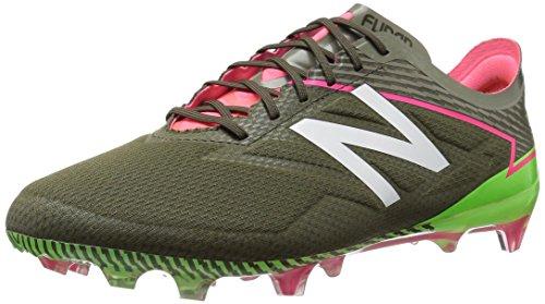 New Balance Herren Furon 3.0 Pro FG Fußballschuhe, Grün (grün/pink grün/pink), 45 EU