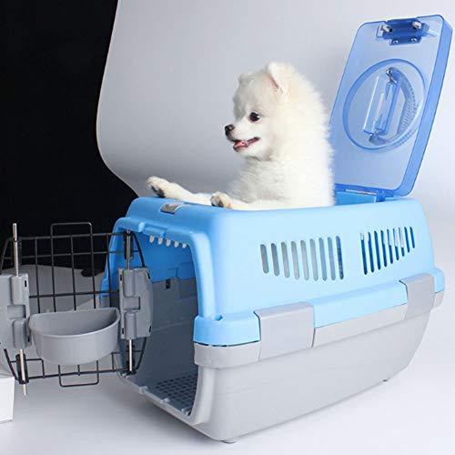 Katzen Transportbox, Katzentransportbox Katzenbox Mit Doppeltüren, Katzenbox Transportbox Mit Oberlichtern Zur Belüftung, Leicht Zu Zerlegen Und Zu Installieren Sowie Rutschfest Und Verschleißfest