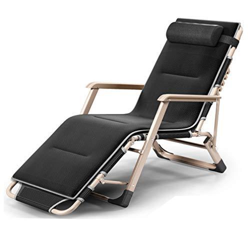 ZXC Relax Lounger Faltbare Und Adjustable, Klappliege Gartenliege, Relaxsessel Garten/Lounger Chair/Relaxliege, Geeignet Für Outdoor, Terrasse, Strand, Pool Etc. (B)
