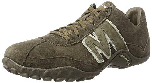 Merrell SPRINT BLAST Herren Sneakers, Grau (Gunsmoke / Weiß), 42 EU
