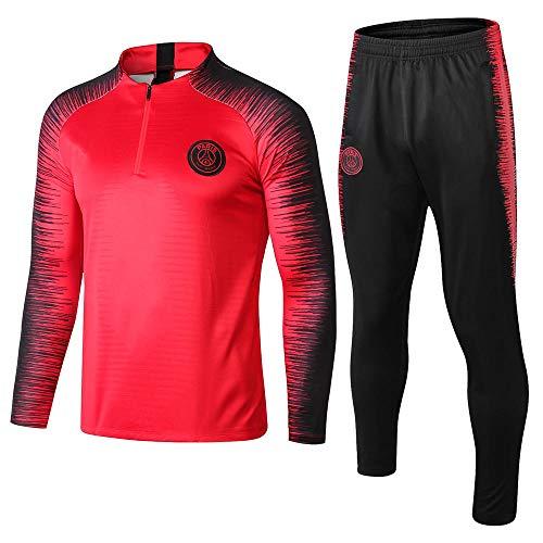 ZuanShiDaHeng Fußballtrainingsanzug Langarmanzug Aussehen Anzug Team Wettkampftrainingsanzug @ 1_S