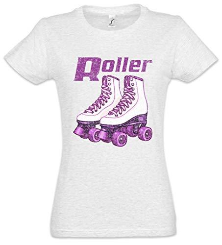 Urban Backwoods Roller Skates Roller Damen T-Shirt Grau Größe XL