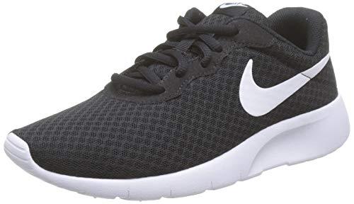 Nike Jungen Tanjun (Gs) Laufschuhe, Schwarz (Black White), 40 EU
