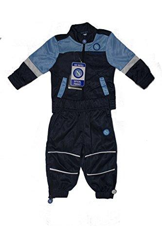 SSC Napoli Jungen Trainingsanzug blau blau 6-7 Jahre